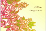 传统花纹图案矢量图2