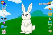 装扮可爱小萌兔...