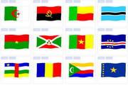 世界各国国旗图...