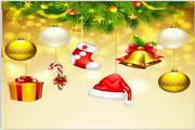 矢量圣诞树05