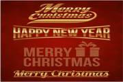 矢量圣诞节卡片04