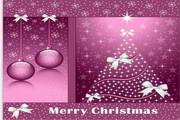 矢量抽象圣诞树