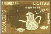 矢量复古咖啡