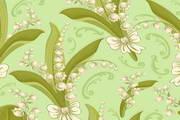 植物花卉壁纸矢量设计素材