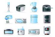 家用电器矢量素材