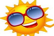 卡通太阳设计矢量素材
