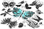 矢量蝴蝶素材2