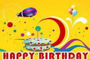 生日庆祝ppt模板