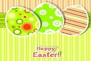 快乐复活节矢量素材图