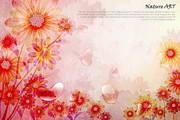 矢量花纹背景素材31