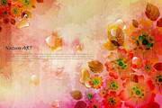 矢量花纹背景素材32