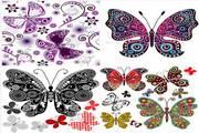 矢量蝴蝶32