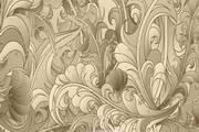 植物花纹背景矢量设计素材