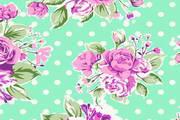 水彩花卉矢量设计