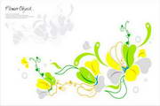 矢量花卉图案素材
