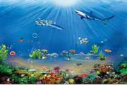 psd海底世界素材