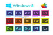 win8设计软件Logo矢量