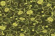 动感植物花纹矢量素材