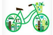 创意自行车矢量设计素材