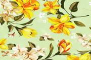 炫彩鲜花背景矢量素材