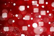 炫红动感背景矢量素材图