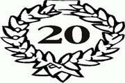 矢量数字20