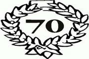 矢量数字70