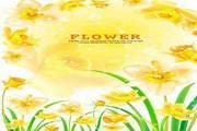 矢量花卉花纹素材5