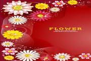 矢量花卉花纹素材7