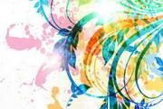抽象艺术花纹矢量图