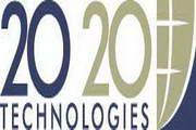 矢量数字20-20 Technologies