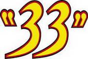 矢量数字33