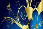 欧式花纹背景PPT模板