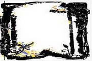 水墨边框背景021