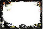 水墨边框背景017