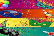 矢量万圣节主题banner设计素材