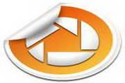 橙色LOGO设计图标下载