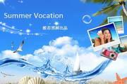 度假旅游ppt模板