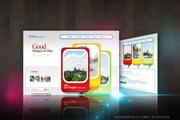 创意网站首页设计源文件
