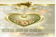 情人节礼品卡片设计模板