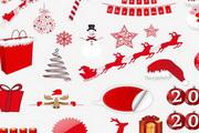 精美圣诞图片元素大全 矢量素材