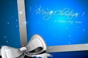 华丽圣诞背景矢量素材