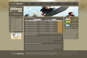 游戏网站设计PSD模板