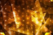 璀璨金色光晕背景矢量素材