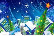 圣诞节banner矢量卡通素材