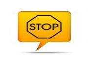 黄色警告标志图标下载