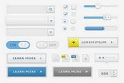 UI设计元素PSD