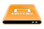 橙色电脑桌面图标下载