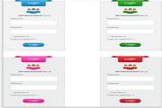 矢量企业网站登陆框