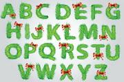 矢量英文字母创意设计